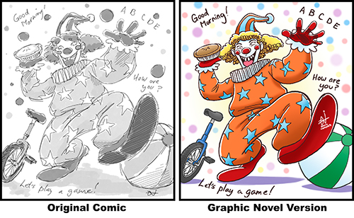 Original vs Graphi Novel Version